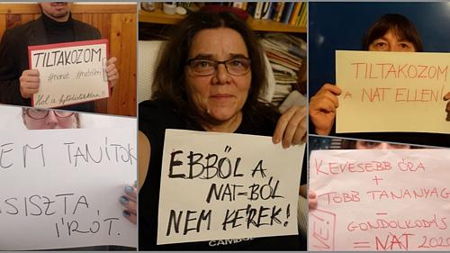 Tanárok és írók tiltakoznak az Nemzeti Alaptanterv ellen